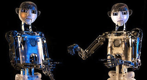 image of two RoboThespians