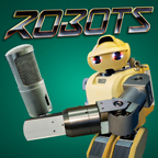 Robot podcast logo