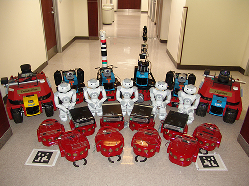 The Distributed Intelligence Laboratory robots