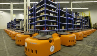 Image of Kiva Systems Robots